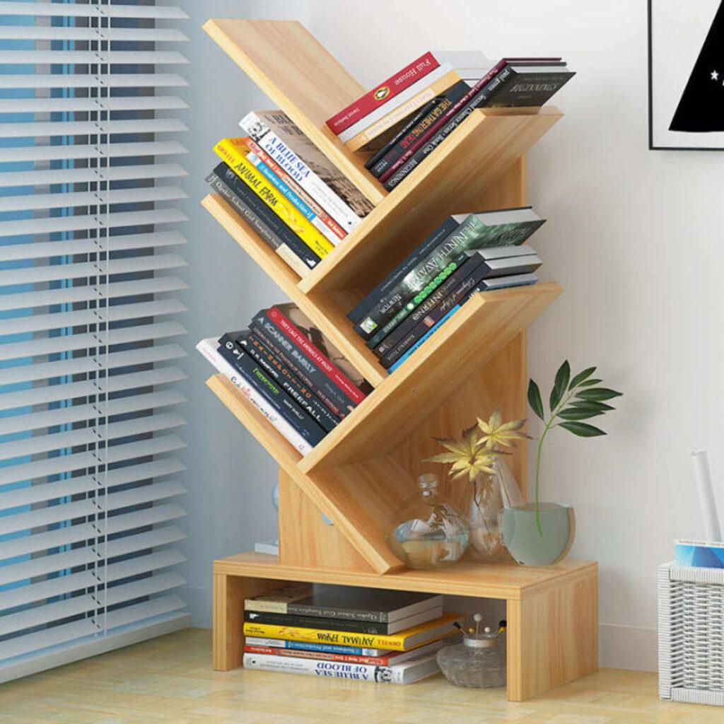 8 Storage Products and Organizers - Tree Desktop BookShelf