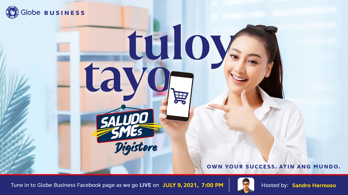 Read more about the article Saludo SMEs' Digistore is Globe Business' Way of Boosting Online Businesses
