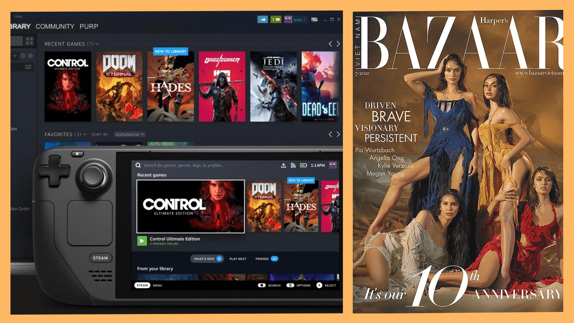 Read more about the article Trending News Roundup: 'Harper's Bazaar Vietnam,' 'Nevertheless,' Steam Deck