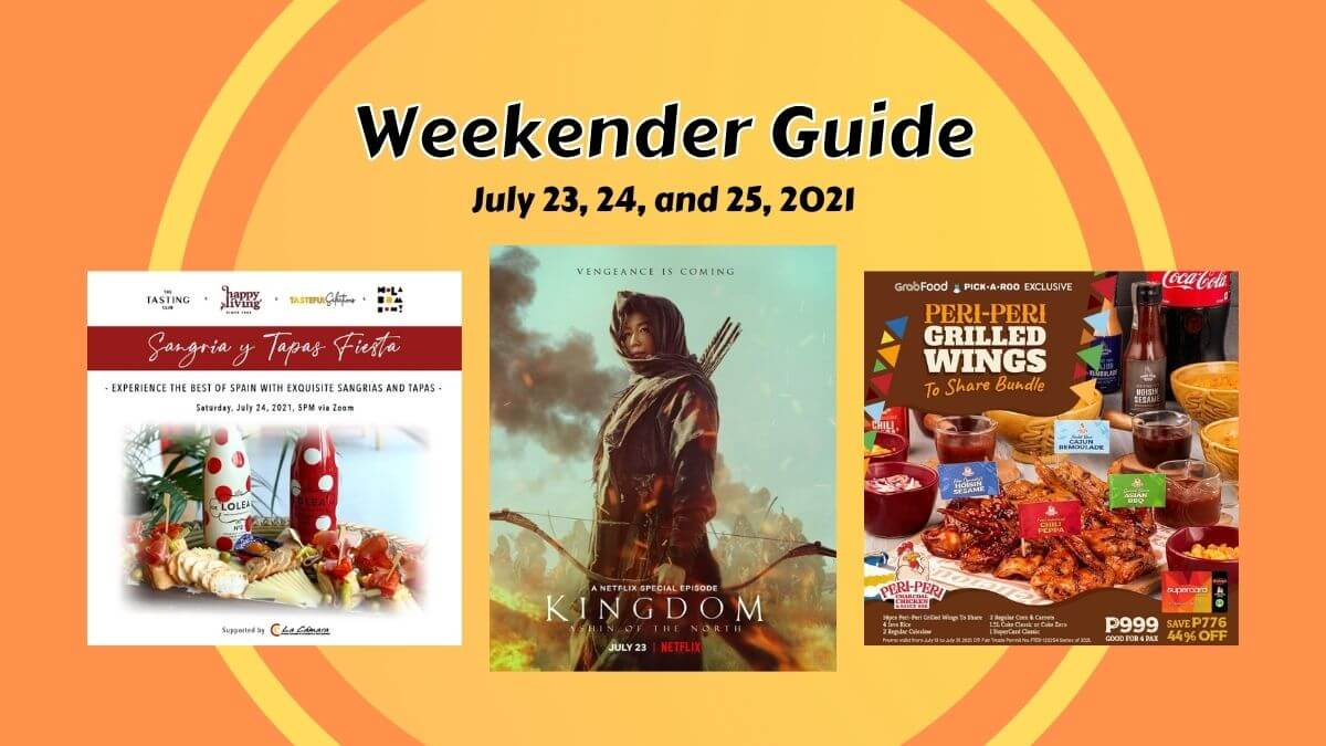 Read more about the article Weekender Guide: What's Happening from July 23 to 25, 2021