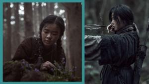 Kim Si Ah and Jun Ji Hyun in Kingdom: Ashin of the North
