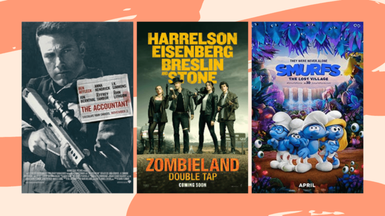HBO for August: The Accountant, Zombieland, Smurfs
