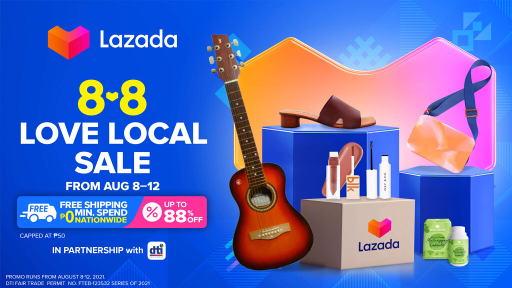 Lazada Love Local 8.8