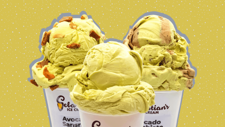Sebastian's Ice Cream Avocado August