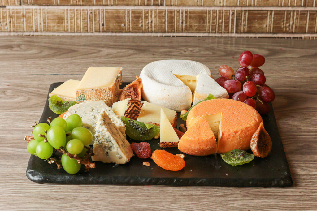 Spiral at Home cheese platter