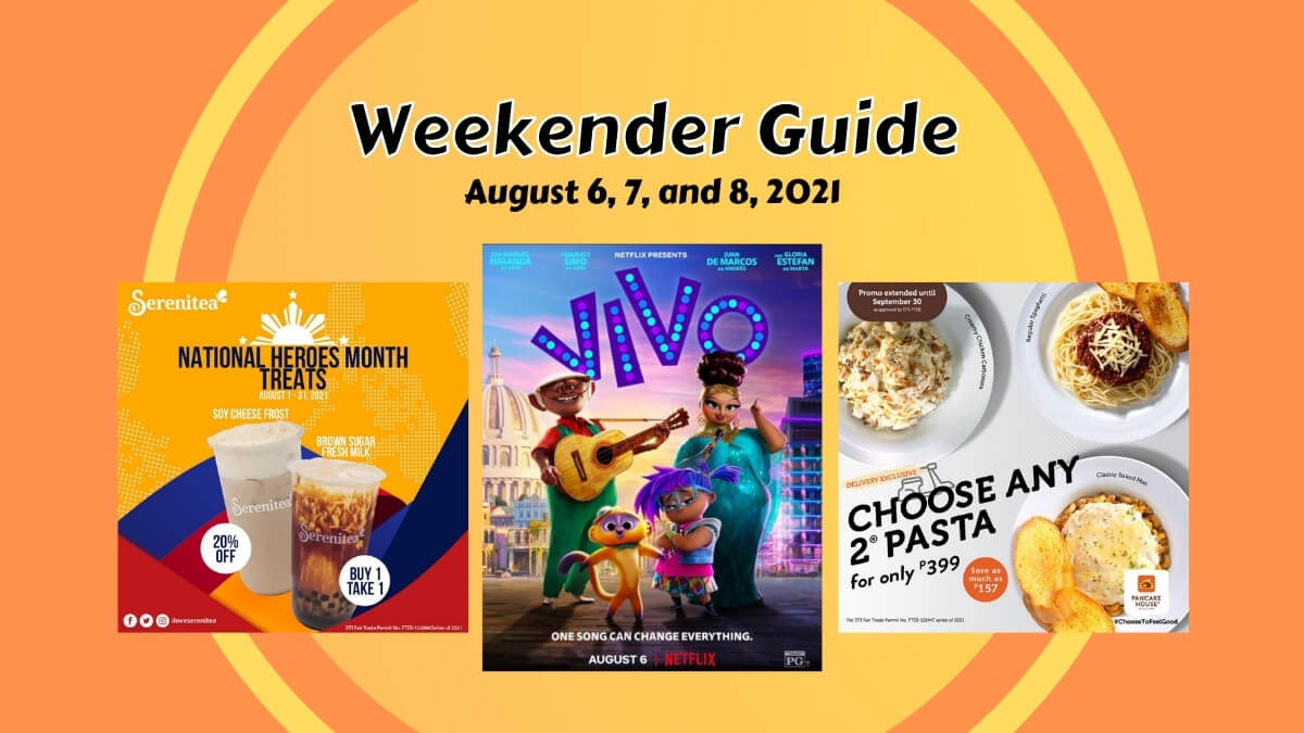Read more about the article Weekender Guide: What's Happening From August 6 to 8, 2021