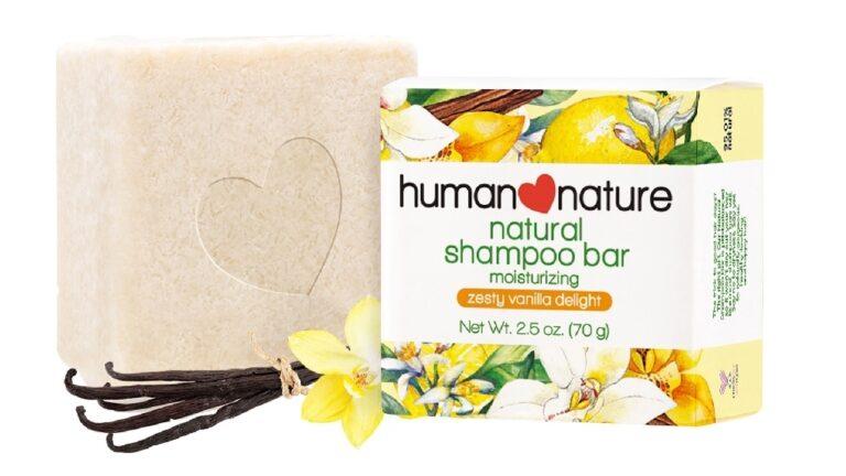 Human Nature shampoo bar