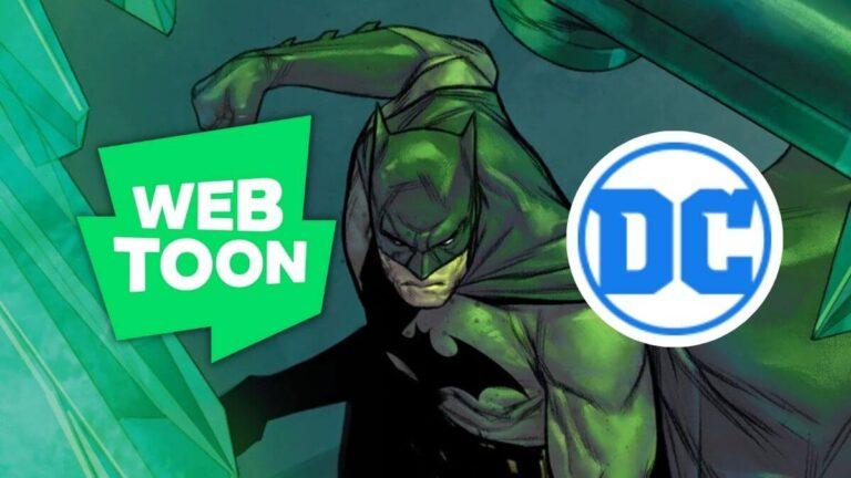 DC Comics and Webtoon Partnership