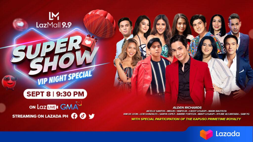 Lazada Super Show 9.9