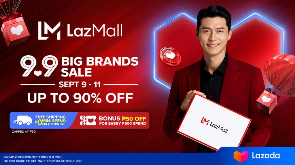 Lazada Super Show 9.9 - LazMall Big Brands Sale