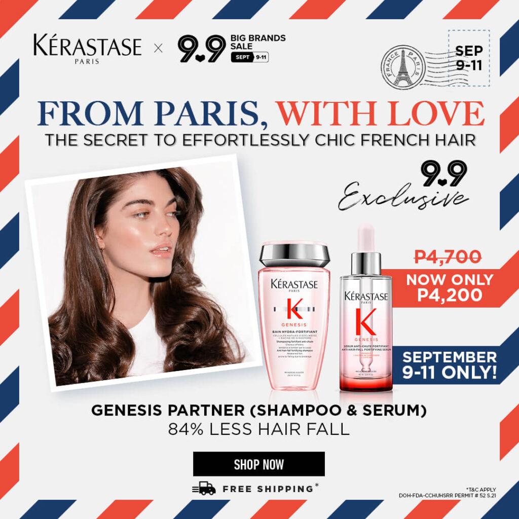 Kérastase Exclusive 9.9 Discount Offerings