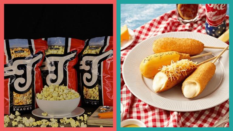 Movie Snacks: Popcorn, Corndog