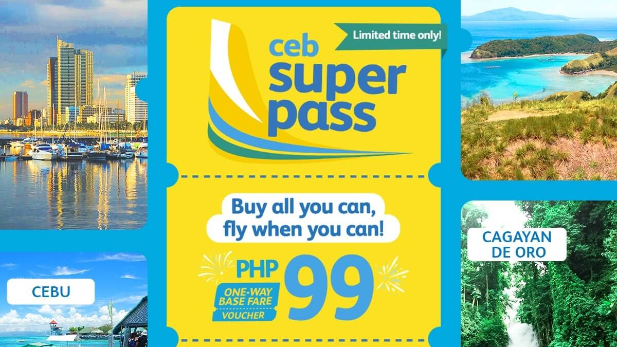 Read more about the article Cebu Pacific's CEB Super Pass is Back by Popular Demand!