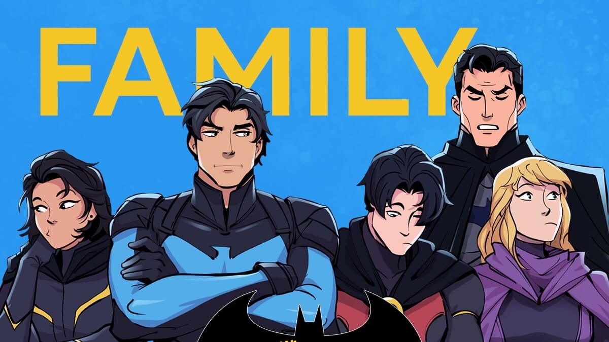Read more about the article Batman is Now on Webtoon's 'Wayne Family Adventures'