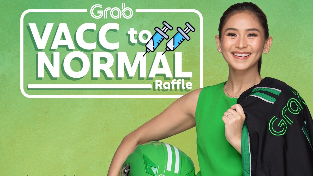 Read more about the article Grab's Vacc To Normal Campaign Lets Users Get Exciting Prizes After Getting Fully-Vaccinated
