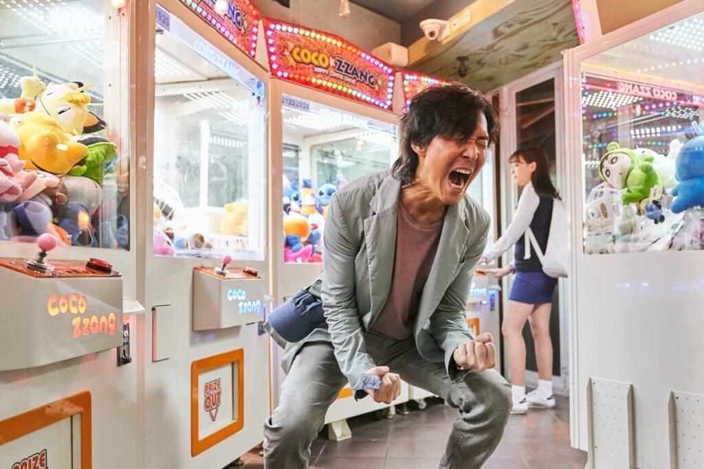 Lee Jung Jae as Gi Hun in Squid Game