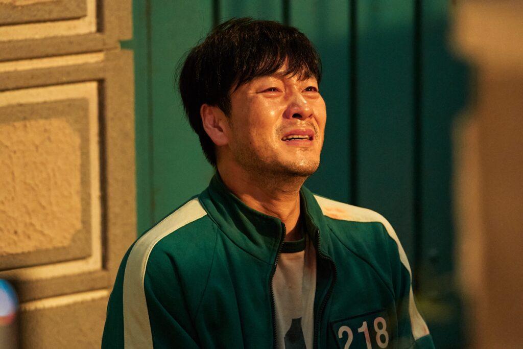 Park Hae Soo as Sang Woo in Squid Game