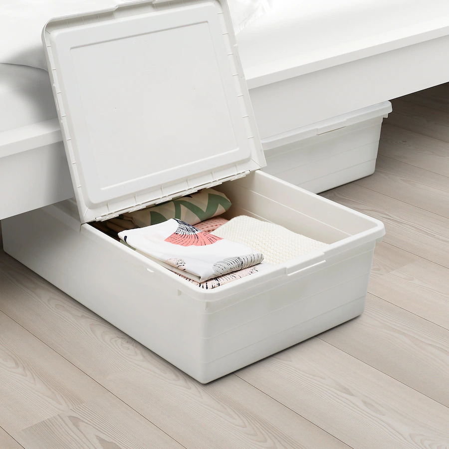 SOCKERBIT Storage Box with Lid - Ikea