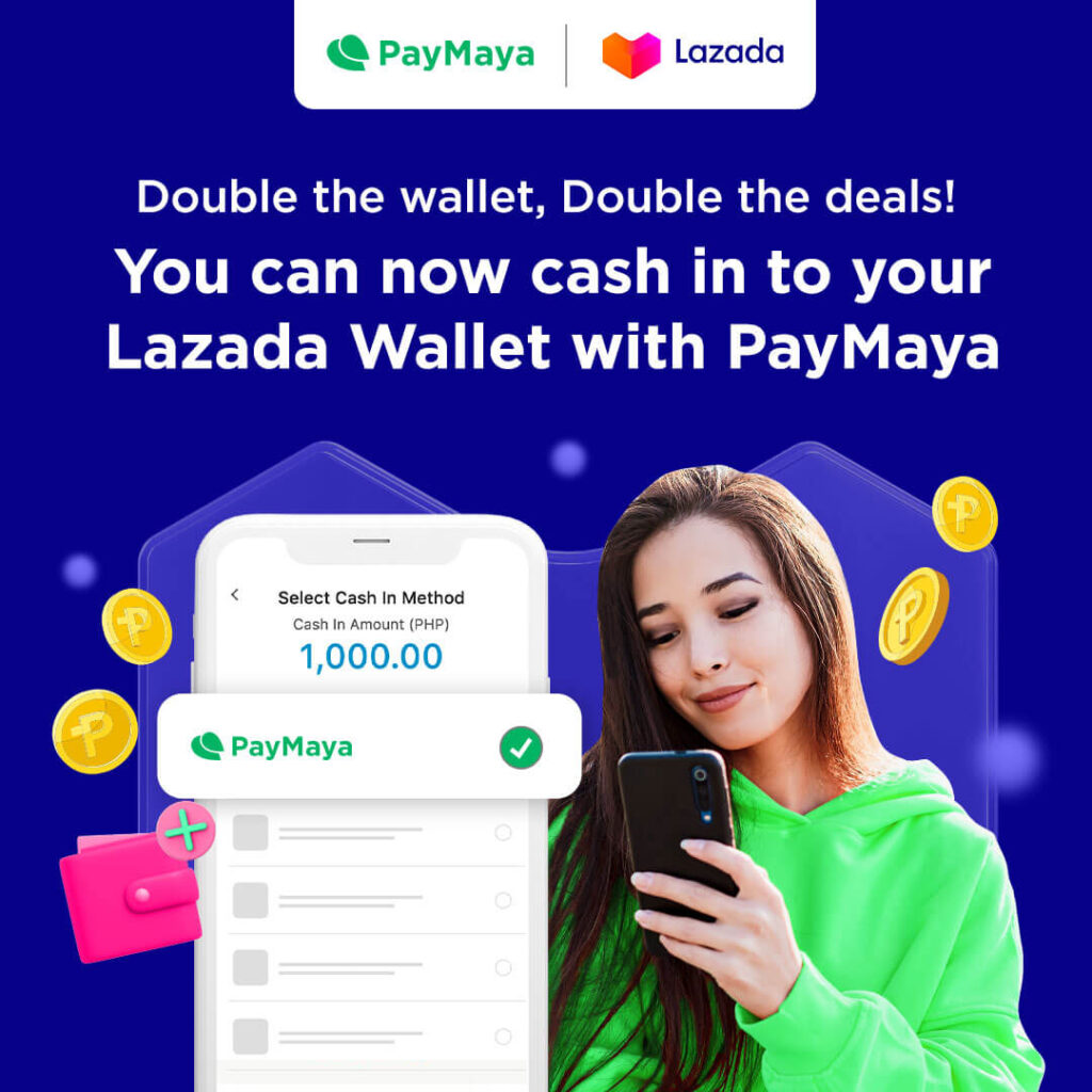 Power up your Lazada shopping with PayMaya!