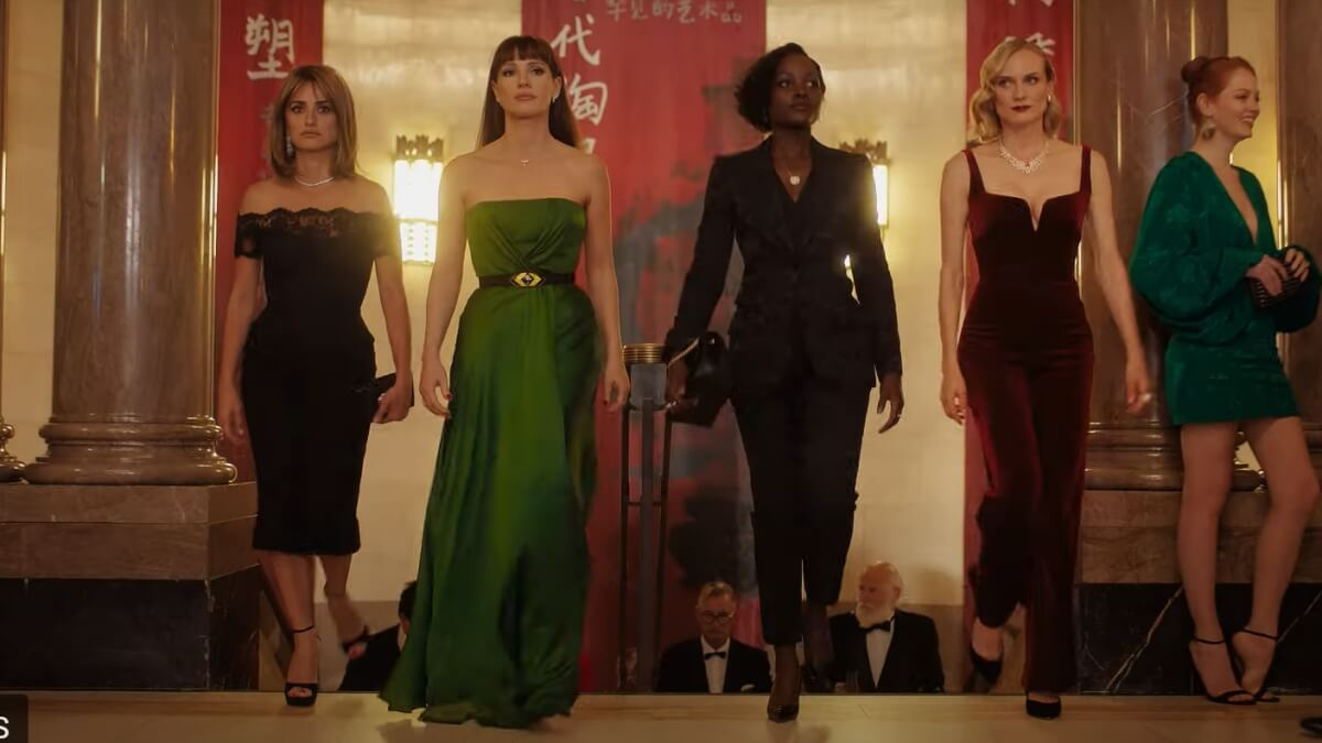 Read more about the article WATCH: New 'The 355' Trailer Teases the All-Female Spy Team in Action