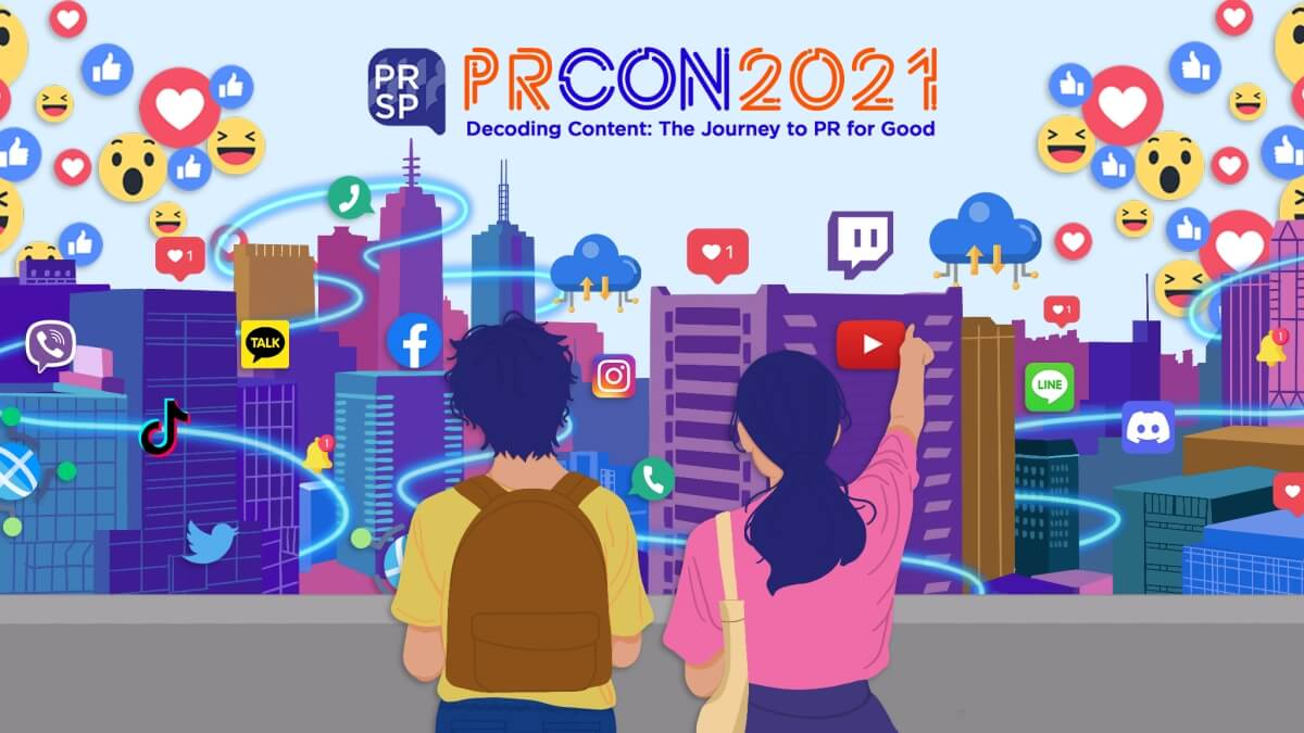 Read more about the article Students' PR Con 2021: PRSP Invites Students on a Journey to PR for Good